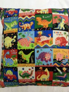 LARGE DINOSAUR THEMED CUSHION - Animals Dinosaur